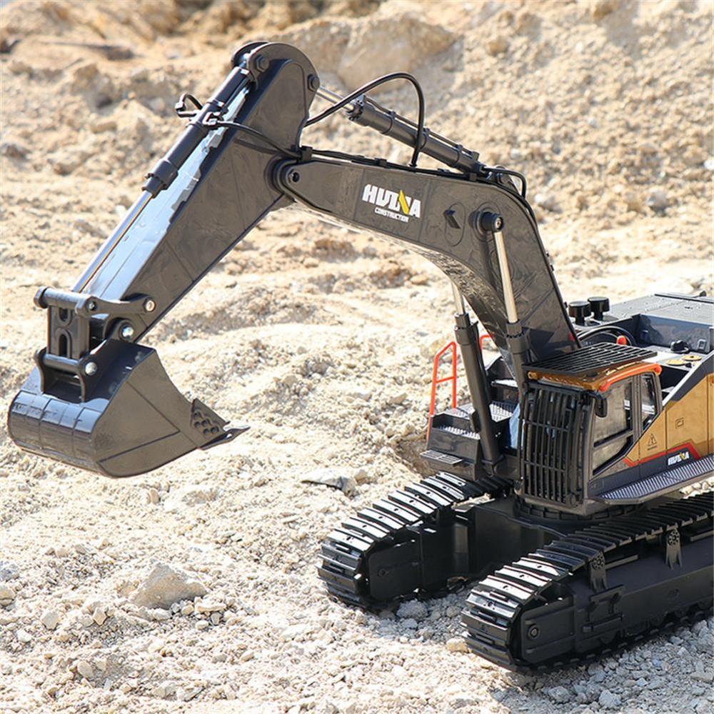 Doki 1:14 1592 RC Alloy Excavator 22CH Big RC Trucks Simulation Excavator Remote Control Vehicle Toy for Boys enlarge