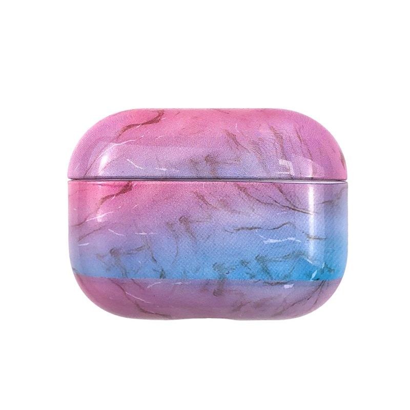 PC Marble Airpod Case Cover, Suitable for Airpods Pro Case Protection Cover Earphone Protection Box Fashion Earphone Accessories enlarge