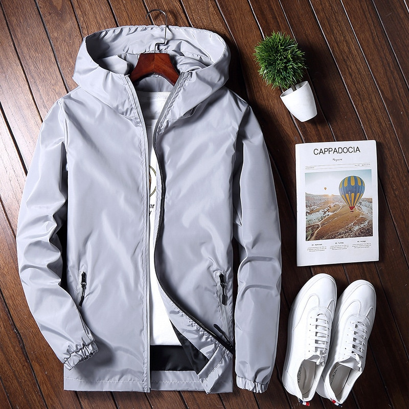 Men's Spring Military Windbreaker Camouflage Jackets Coats Fashion Streetwear Men Jacket Camo High Quality Clothes Reflective