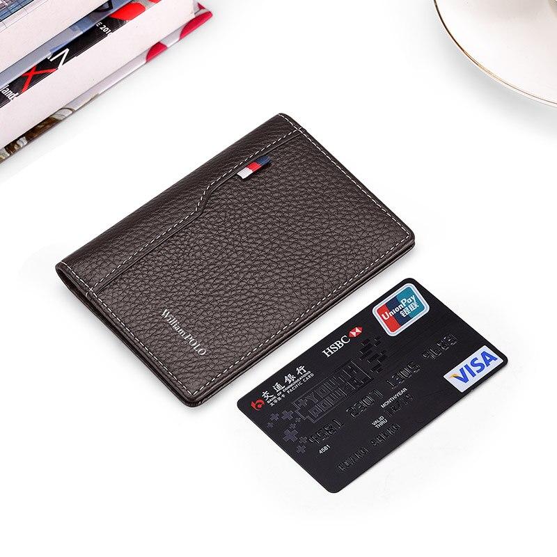 Кожаный чехол, тонкий кошелек, мужской кошелек, мини-кошелек, короткий вертикальный мужской кошелек, держатель для карт, сумка для монет, Пор...