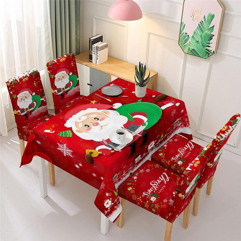 عيد الميلاد الجدول حصيرة عشاء غطاء الطاولة تحديد الموقع زخرفة جرس سانتا كلوز مفرش المائدة عيد الميلاد الديكور للمنزل Navidad 2022