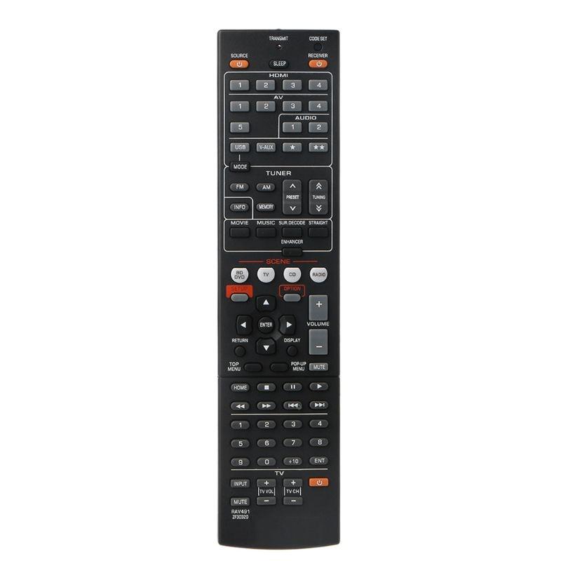 Controle remoto para YA-MAHA RAV463 ZA113500 RAV491 RAV494 ZF30320 RX-V373 Receber D08A