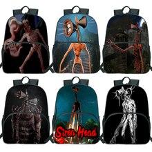 Siren Head Backpack boys Girls School Bags teens laptop backpack Children's Backpack Kids Gift Bags