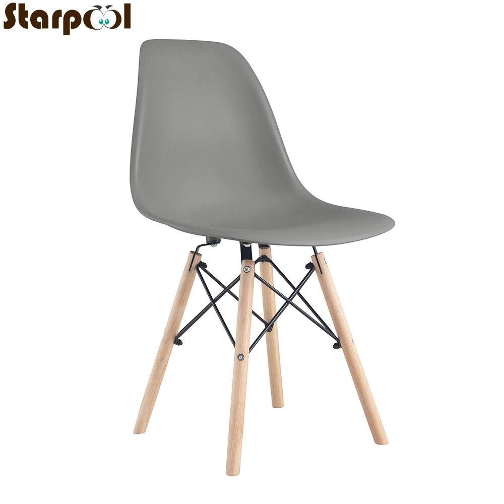 Серые обеденные стулья в средневековом стиле, 4 шт., с металлической рамой, с окрашенными деревянными ножками, для кухни, столовой, кабинета обеденные группы из стекла для кухни