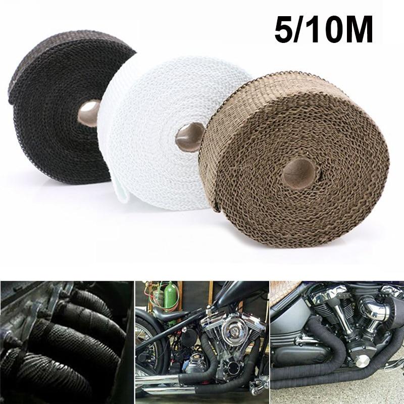 Cubierta de cinta de escape térmico para BMW 310 gs f650 gs r1150r k1200lt 310r f800 r1150gs f650gs gs 800 f 800 gs accesorios de motocicleta