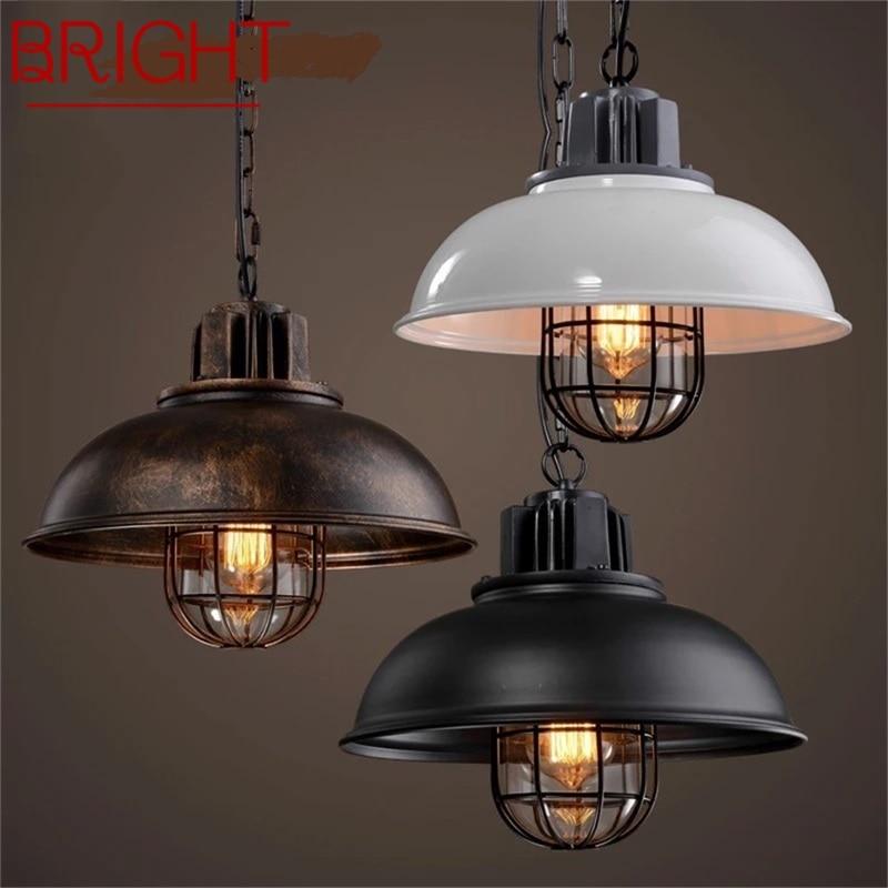 مشرق الرجعية قلادة ضوء الكلاسيكية لوفت LED تركيبات مصباح ديكور للمنزل المعيشة غرفة الطعام