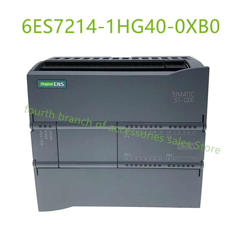 الأصلي في مربع جديد S7-1200 CPU 1214C 6ES7214-1AG40-0XB0 6ES7214-1BG40-0XB0 6ES7214-1HG40-0XB0