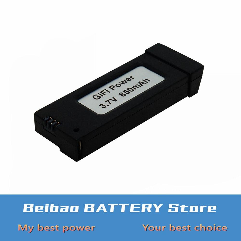 Upgrade 850mAh 3.7V Li-po battery For E58 JY019 GD88 L800 S168 Drone battery