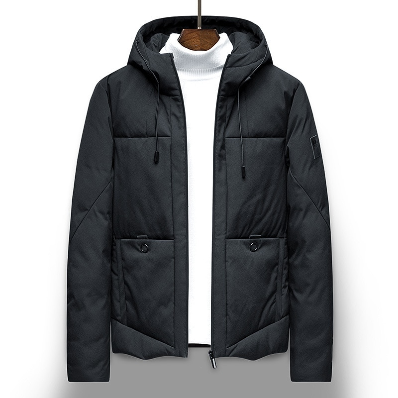 Мужская зимняя куртка, Корейская мужская короткая красивая зимняя мужская хлопковая куртка, хлопковая куртка