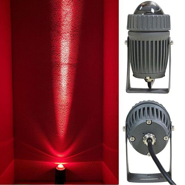 مصباح كشاف Led خارجي ، ip65 ، شعاع ضيق ، مصباح حائط ، إضاءة المناظر الطبيعية ، مثالي للحديقة ، 10 واط