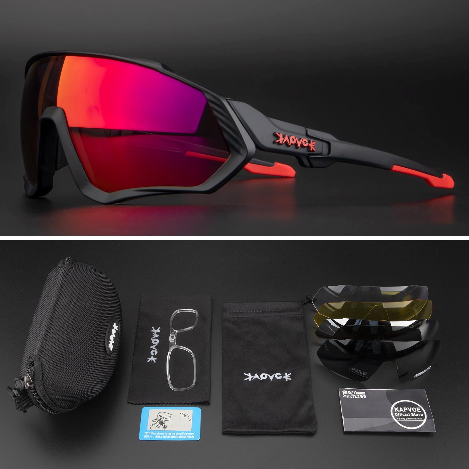 Gafas de sol polarizadas para ciclismo para hombre y mujer, lentes para...