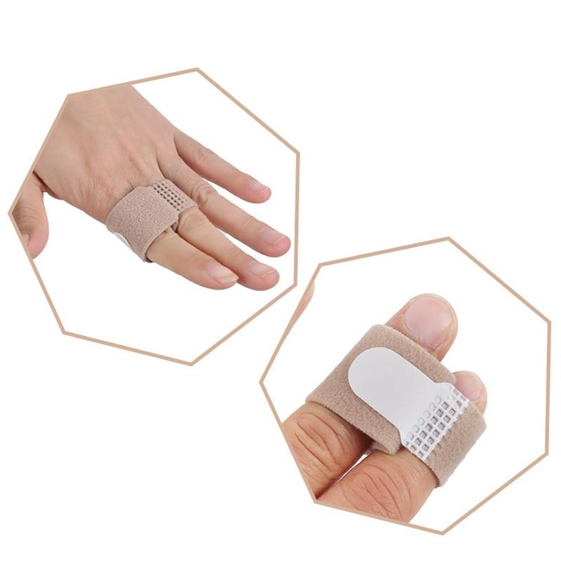 20 PCS Toe Protector Finger Adjuster Hammer Thumb Straightener Foot Care Tool Bandages Separator Str
