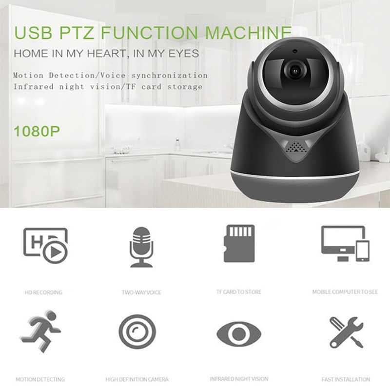 1080P Ip inalámbrica Wifi cámara De Seguridad de vigilancia CCTV cámara De...