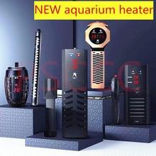 Barra de calentamiento sumergible de acero inoxidable de 50W/100W/200W/300W/W para acuario, termostato de ajuste de temperatura de pecera