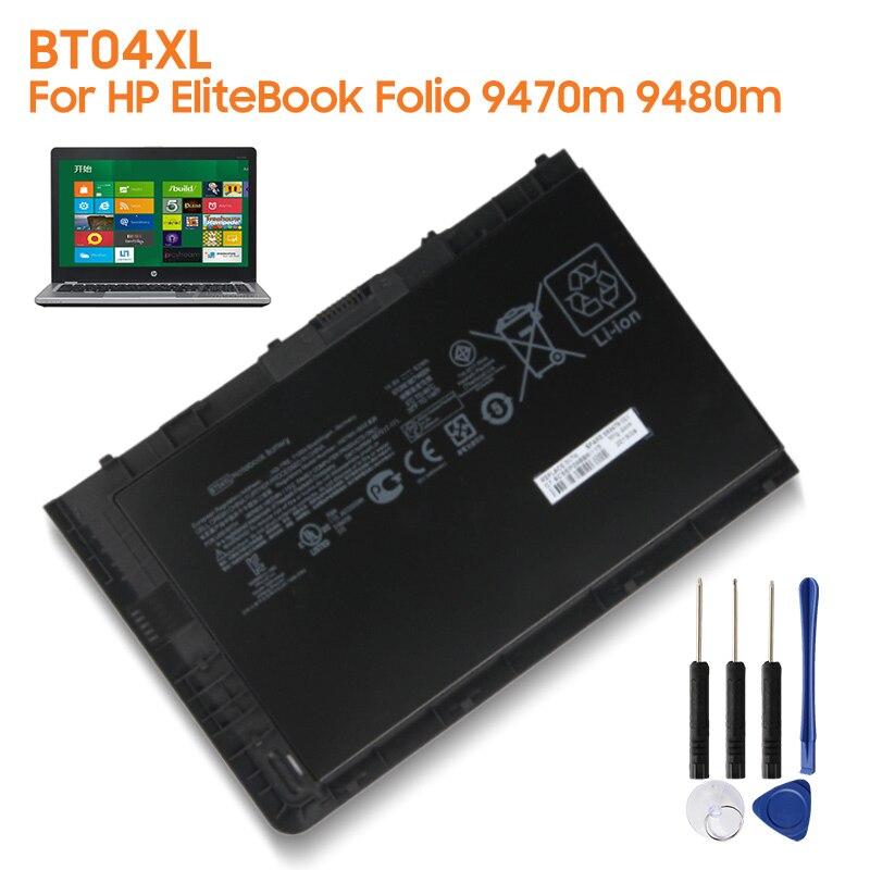 BT04XL-بطارية بديلة أصلية لجهاز HP ، جهاز لوحي ، 9470 متر ، 9480 متر ، BA06XL ، H4Q47AA ، 687945-001