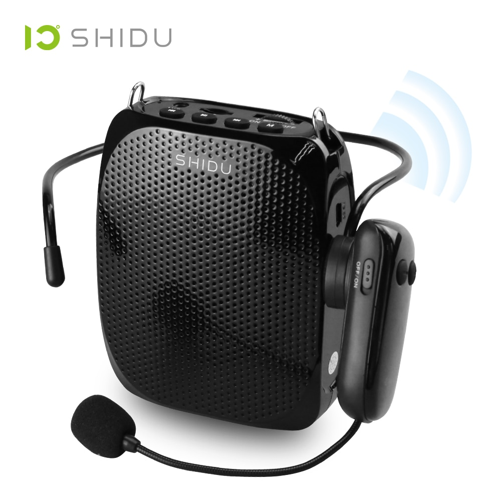 SHIDU-مكبر صوت لاسلكي ، S615 ، مكبر صوت صغير ، UHF ، USB ، Lautsprecher ، مدرب اليوغا ، Tourrist