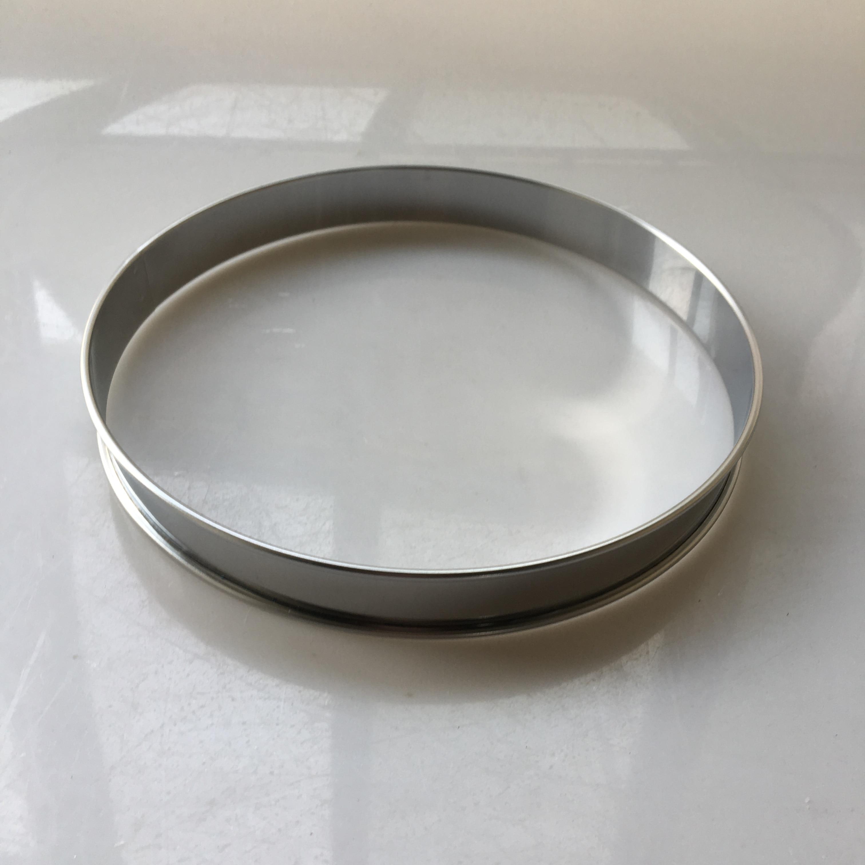 9 pulgadas 24cm Anillos De Muffin inglés anillo de tarta Anillo de pie anillo de tarlet de círculo