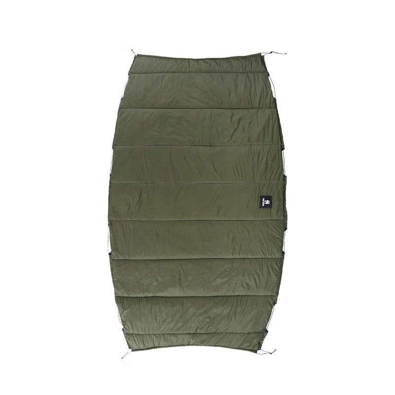 OneTigris Winter Hammock Under-quilt Lightweight Full Length Hammock Underquilt Under Blanket -5 C to 5 C(23 F to 41 F)