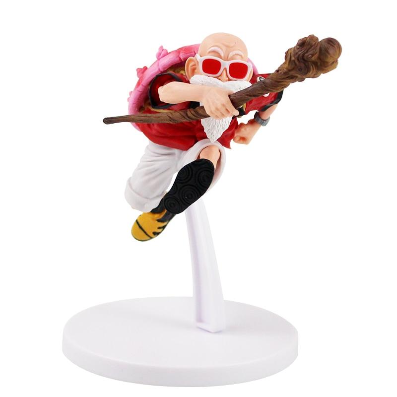 15cm de Dragon Ball Z maestro Roshi Kamesennin PVC figura de acción de juguete de modelos coleccionables la muñeca