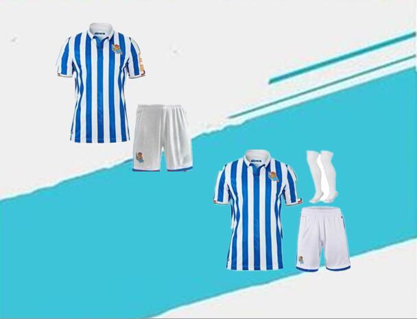 Camisetas de la Real Sociedad para hombres, camisetas de la Copa del...