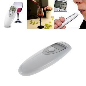 Single Display Screen Pocket Digital Alcohol Breath Tester Analyzer Detector Test Testing LCD Display Portable
