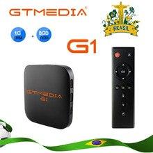 Gtmedia G1 Tv Box Media Player 1 Gb Ram 8 Gb Rom S905W Android 7.1 Afstandsbediening 4K 2K Hd 2.4G Ingebouwde Wifi Set Top Box Voor Tv