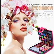 32 Colors Eye Shadow Shimmer Eyeshadow Palette Matte Eyeshadow Shiny Charming Eye Shadow Powder Sweat Proof Eyeshadow Pigment