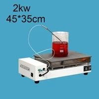 stainless steel laboratory stirrer heating plate constant temperature digital display temperature control electric heating plate