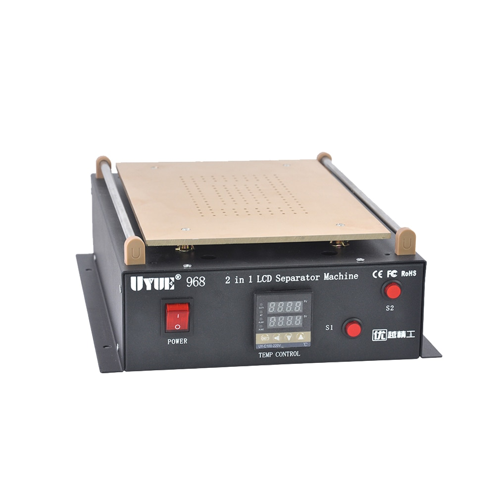 UYUE 968 14 inches Build-in Air Dual Pump Vacuum Pump LCD Separator Screen Repair For IPad/Samsung Tablet Repair Machine Kit enlarge