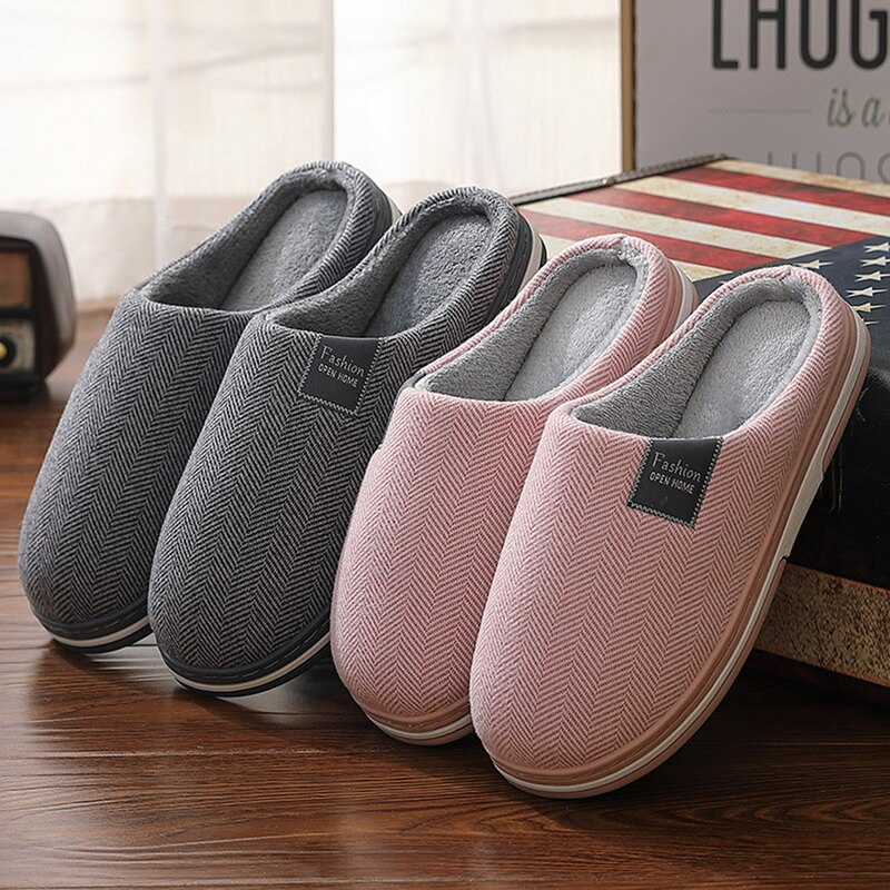 Winter Warm Classic Women Fur Slippers Men Ladies Boys Girls House Shoes Comfort Flat Heel Home Indo
