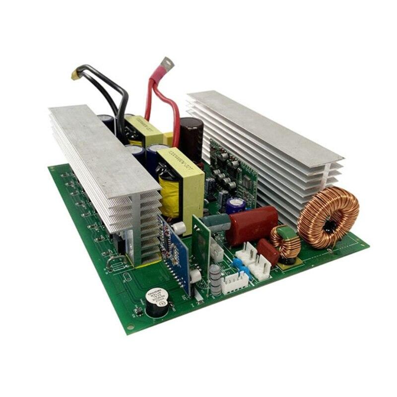نقية شرط موجة لوحة محول التردد مع شاحن بالطاقة الشمسية المراقب المالي السلطة الرئيسية يصلح للسيارة RV المنزل الشمسية 1000 واط 12 فولت/24 فولت/48 فو...