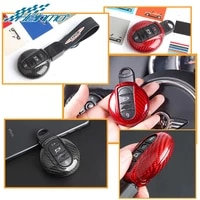 for mini cooper f54 f55 f56 f57 f60 car key chainrope case cover styling decoration for mini countryman clubman accessories