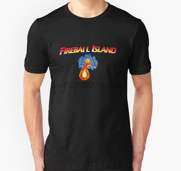 Men tshirt fireball island 80 board game Unisex T Shirt women T-Shirt tees top