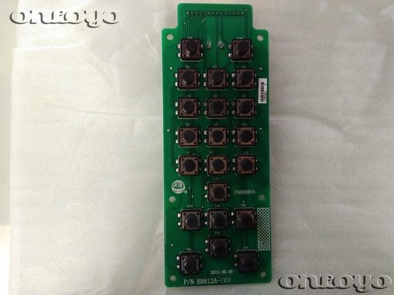 Pièces de rechange pour clavier E8812   machine à broder avec qualité dahao