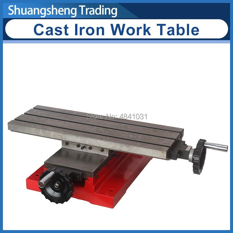 Mesa de trabajo de hierro fundido 400x145mm SIEG SX1 accesorios para fresadora