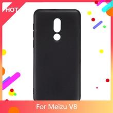V8 Case Matte Soft TPU Silicone Back Cover For Meizu V8 Phone Case Slim shockproof