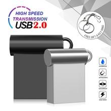 Unidad Flash Super Mini de Metal, Pendrive de alta velocidad, 4G, 8G, 16G, 32GB, 64G, 2,0