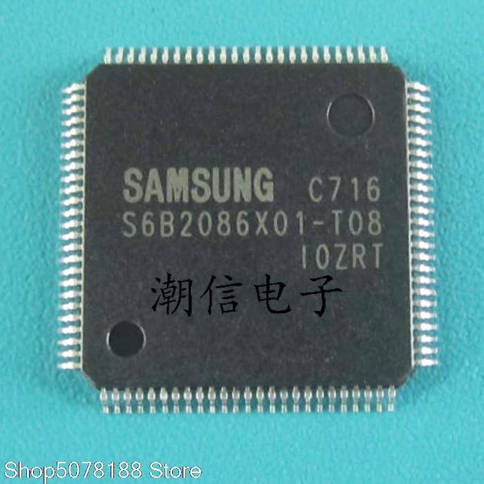 5pieces S6B2086X01-T08  QFP-100