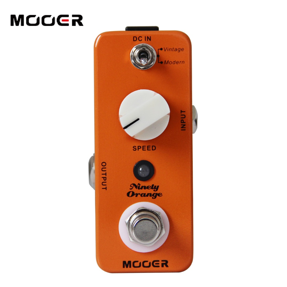 Mooer Guitar Effects Pedal Analog Phaser Vintage Modern For Electric Guitar Rich Sound MPH1 Ninety Guitar Pedal Effect Processor enlarge