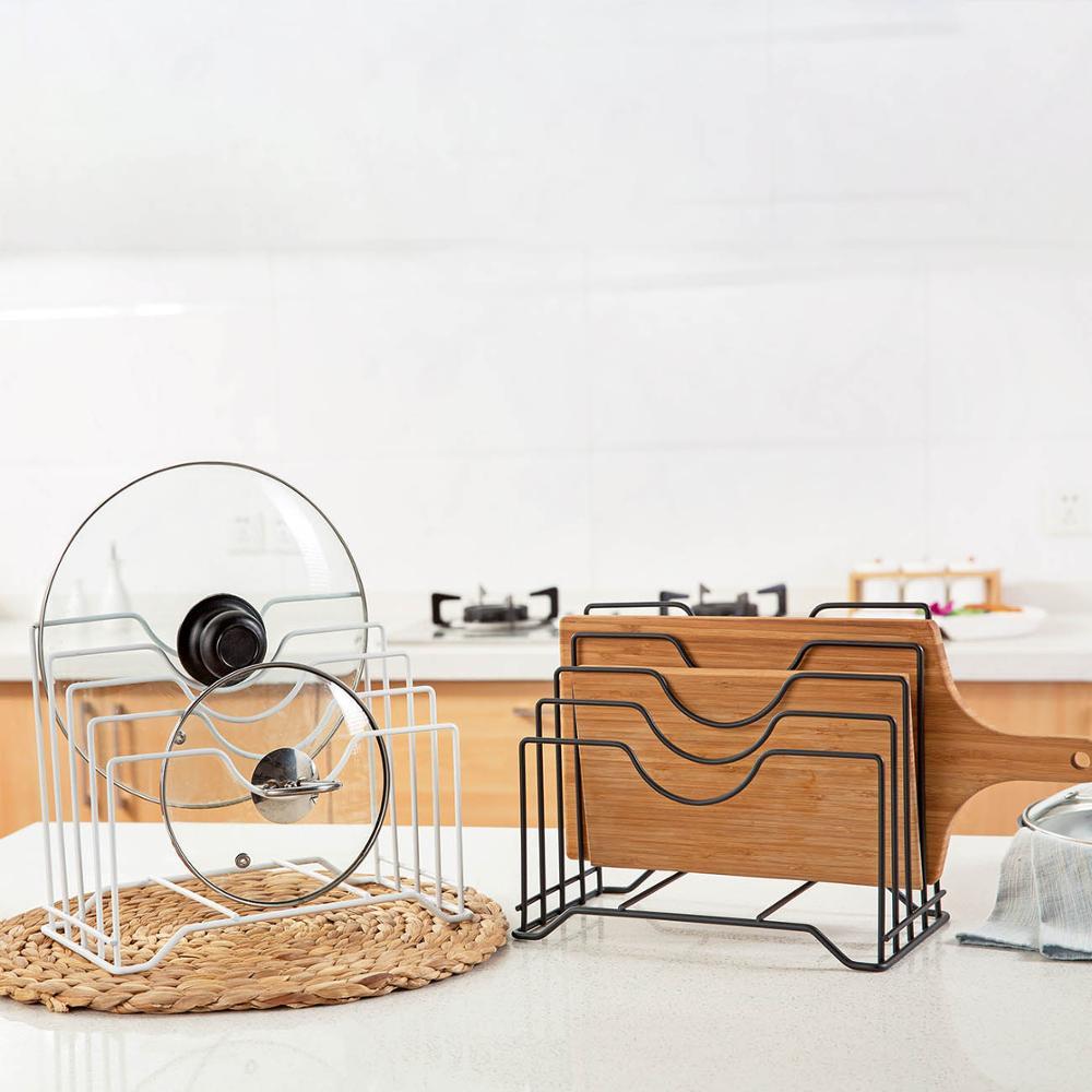 Estante de almacenamiento para cocina, soporte de tabla de cortar, organizador de...