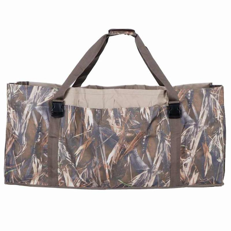 600D Nylon Slotted Decoy Bag with 12 Slot - Protect Decoys Camo for Outdoor Hunting Accessories Duck Decoy Bag enlarge