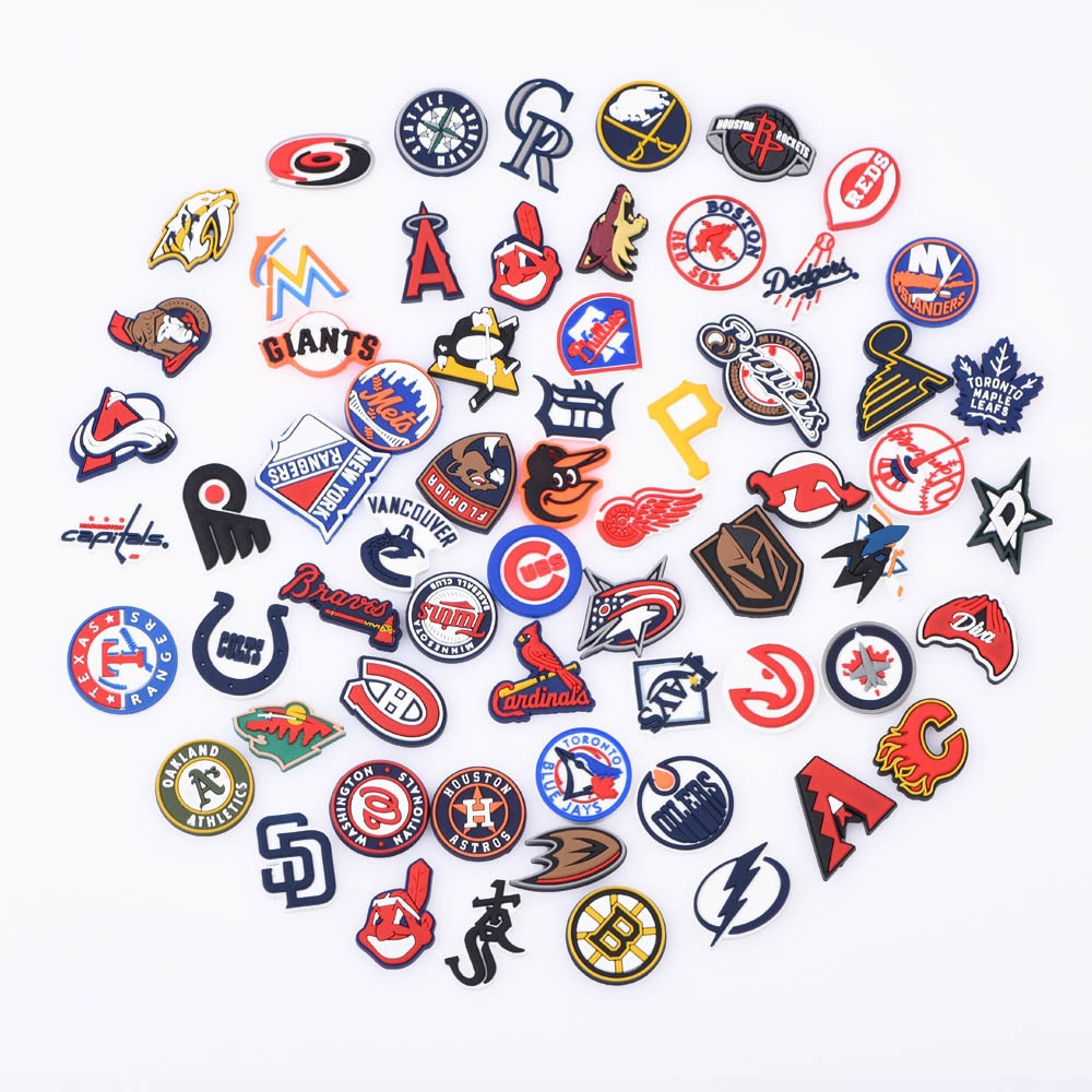 Best Selling Shoes Charm Croc Charms Sports Team Cow Boys For Clogs Raiders Football Accessories For