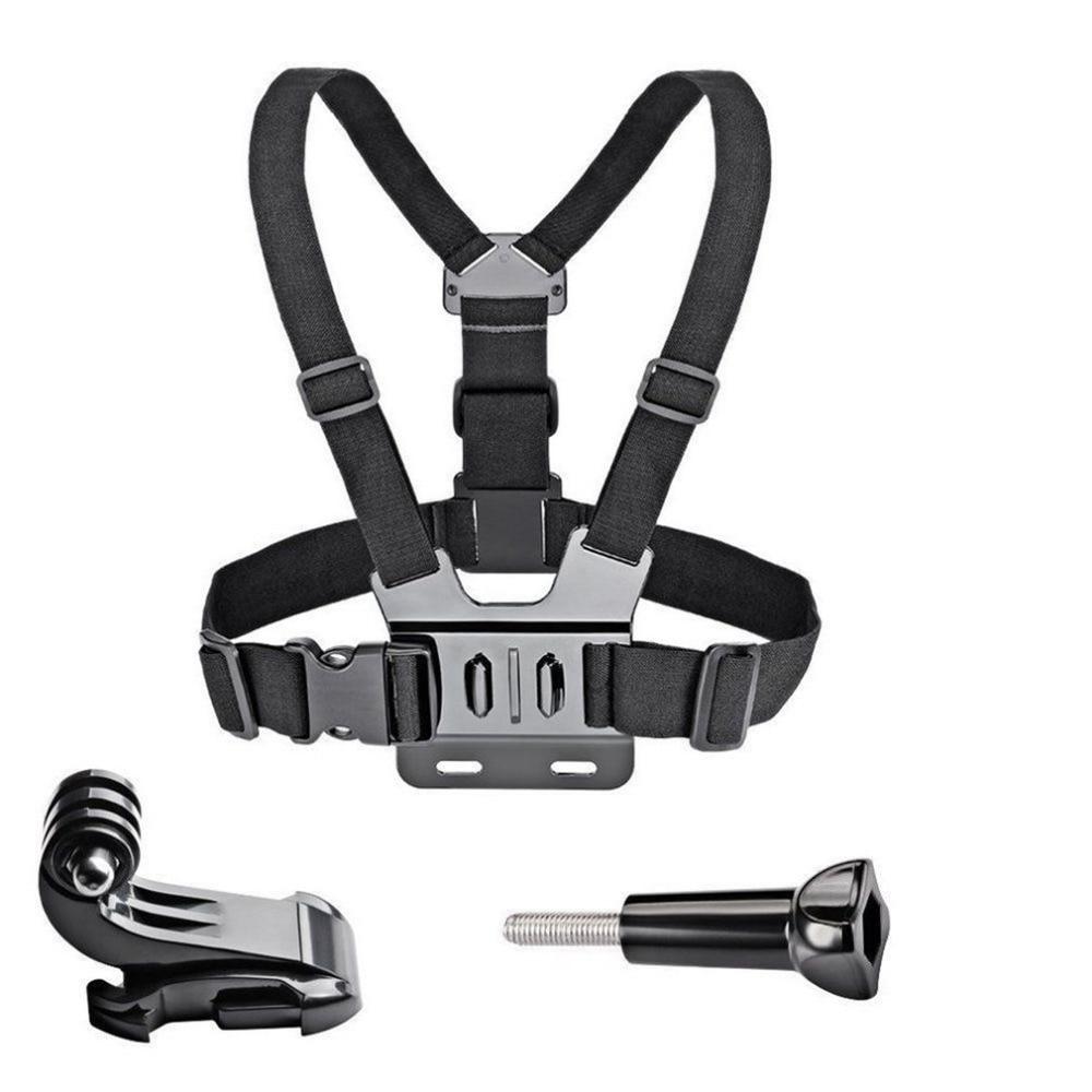 GoPro Accessories Adjustable Chest Mount Harness Chest Strap Belt for GoPro HD Hero 8 7 6 5 4 3+ 3  SJ4000 SJ5000 Sport Camera