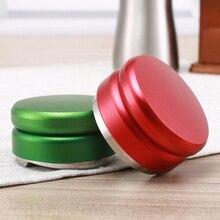 Distributeur/niveleur de café 58 mm et bourreur manuel, Macaron à socle inclinable à 3 angles, double face, réglable en profondeur