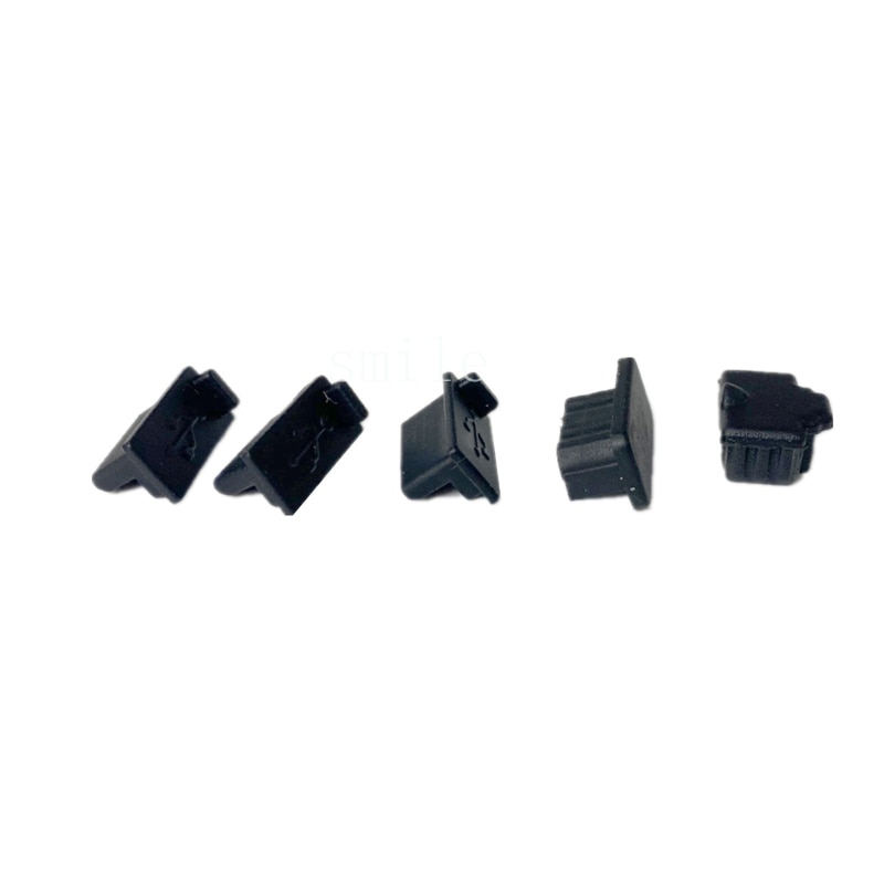5Pcs Dust Plug Silicone Dust Proof Cover Stopper Kits For XBOX Series S/ X Gaming Console