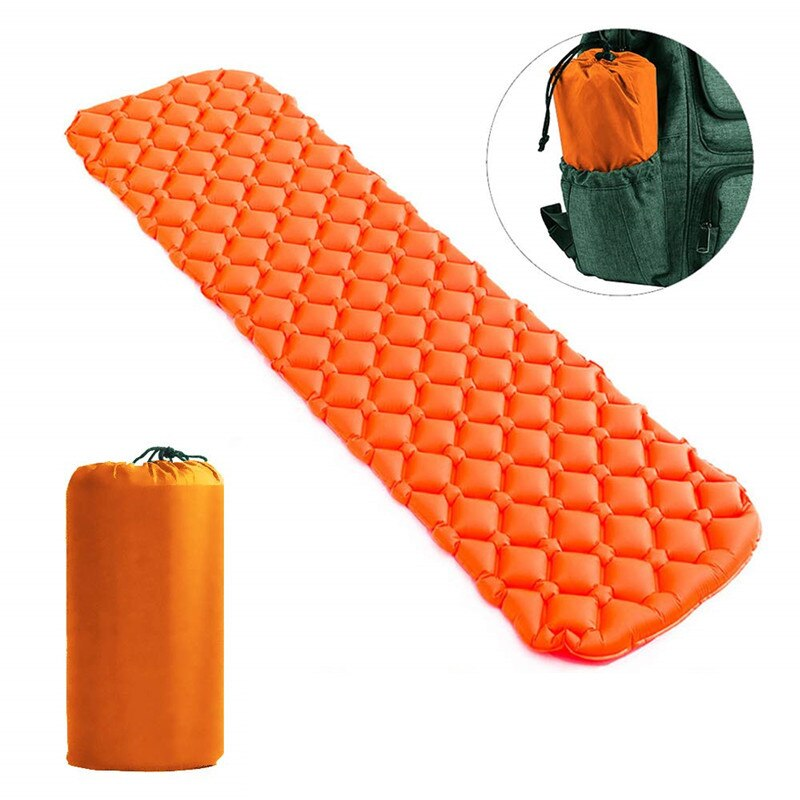 Ultralight Camping Sleeping Pad Inflatable Camping Mat Pad for Backpacking & Hiking-Insulated Sleeping Mat Camping Mattress Pad