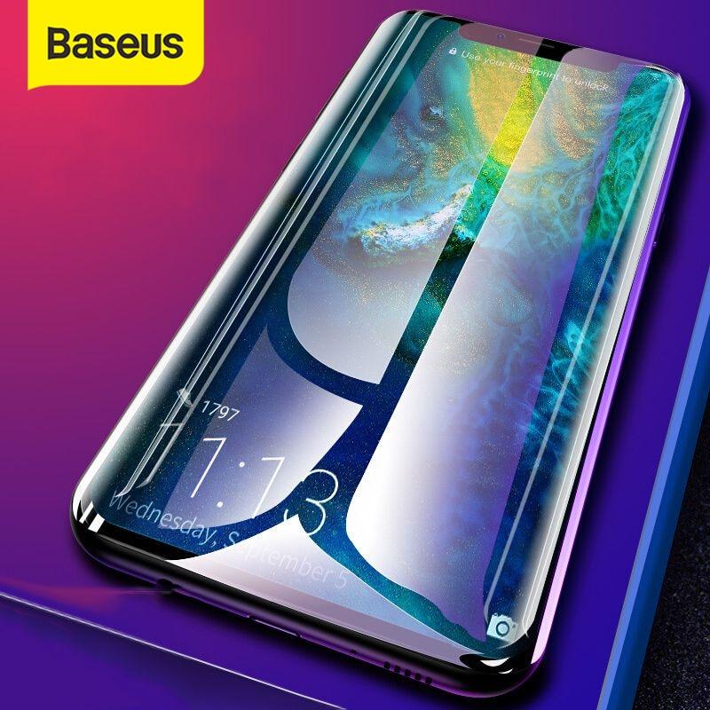 Cristal Protector Baseus para Huawei Mate 20 20 Pro Protector de pantalla superficie 3D cobertura completa vidrio templado para Huawei Mate 20