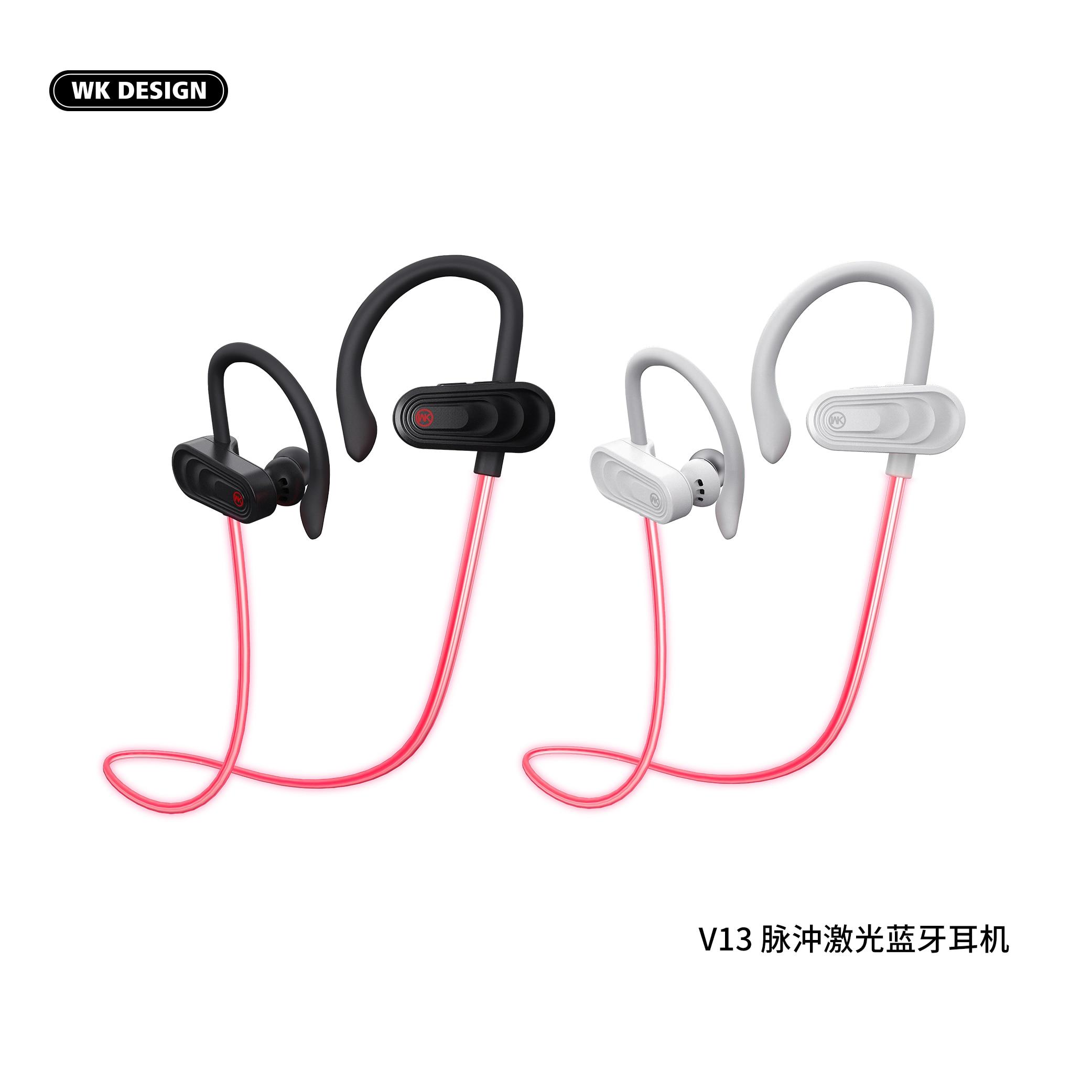 WK pulso láser Bluetooth 5,0 auriculares estéreo inalámbrico deporte