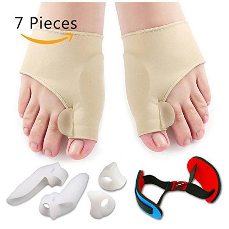 Bunion Corrector Gel Pad Stretcher Nylon Hallux Valgus Protector Guard Toe Separator Orthopedic Stra