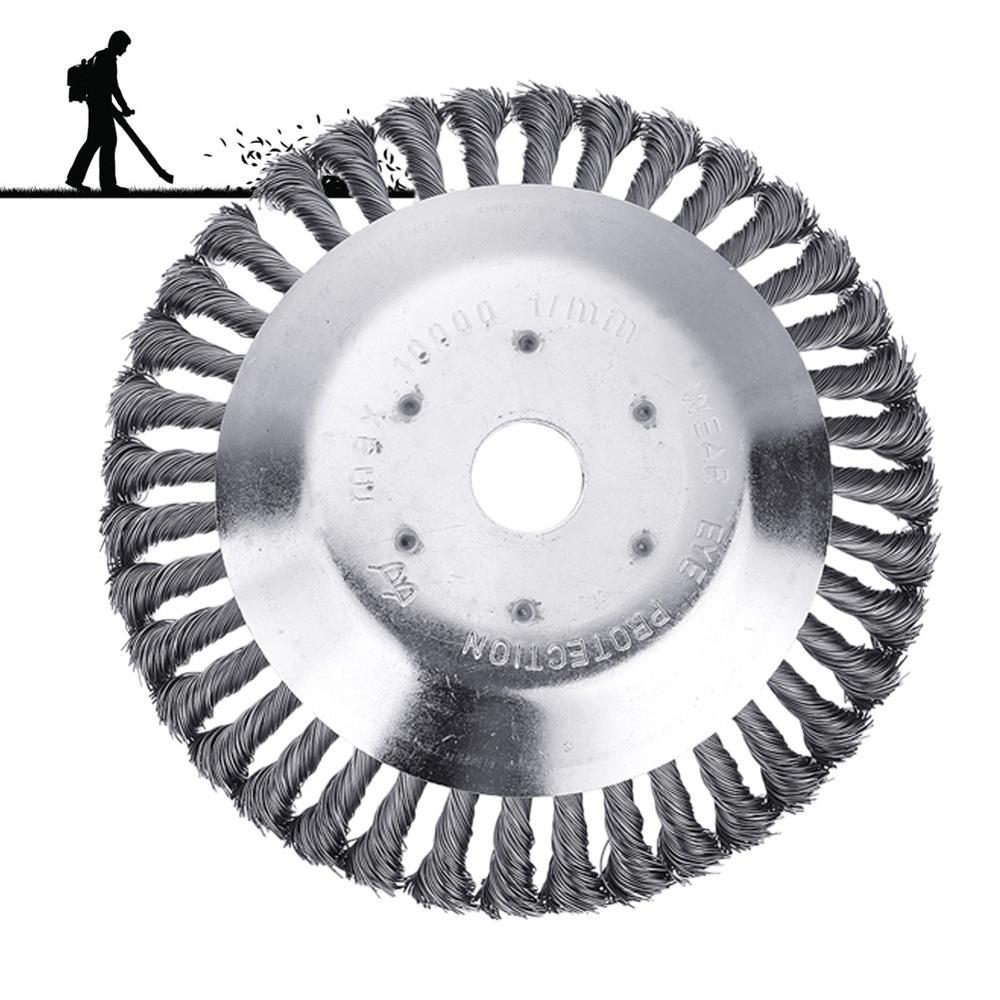Universele grasmaaier mes trimmer schijfkop twist knoop borstel - Tuingereedschap - Foto 6